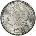 1890 Morgan Silver Dollar Value