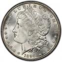 1890 Morgan Silver Dollar Value