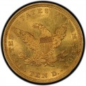 1840 Liberty Head $10 Gold Eagle Values