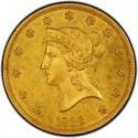 1838 Liberty Head $10 Gold Eagle