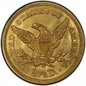 1845 Liberty Head $2.50 Gold Quarter Eagle Coin values
