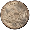 1857 Seated Liberty Silver Dollar Values
