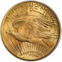 1908 Saint-Gaudens Double Eagle Value