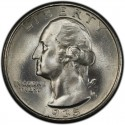 1935 Washington Quarter Value