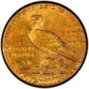 1915 Indian Head $5 Half Eagle Value