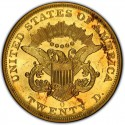 1857 Liberty Head Double Eagle Value