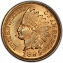 1895 Indian Head Pennies