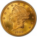 1892 Liberty Head Double Eagle