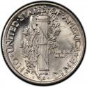 1925 Mercury Dime Value