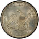 1861 Seated Liberty Silver Dollar Values