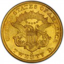 1859 Liberty Head Double Eagle Value