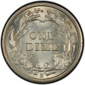 1903 Barber Dime Value