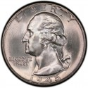 1945 Washington Quarter Value