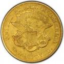 1858 Liberty Head Double Eagle Value