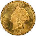 1869 Liberty Head Double Eagle