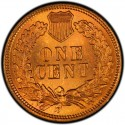 1886 Indian Head Pennies Values
