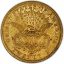1870 Liberty Head Double Eagle Value