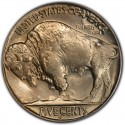 1937 Buffalo Nickel Dollar