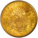 1883 Liberty Head Double Eagle Value