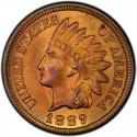 1889 Indian Head Pennies