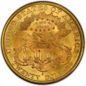 1877 Liberty Head Double Eagle Value