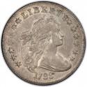 1798 Draped Bust Silver Dollar
