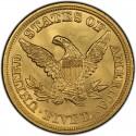 1845 Liberty Head Half Eagles values