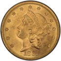 1867 Liberty Head Double Eagle