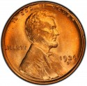 1936 Lincoln Wheat Pennies