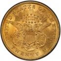 1874 Liberty Head Double Eagle Value