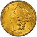1860 Liberty Head Double Eagle