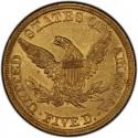 1846 Liberty Head Half Eagles values