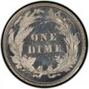 1892 Barber Dime Value