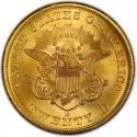 1856 Liberty Head Double Eagle Value
