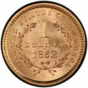 1852 Liberty Head Gold $1 Coin Value