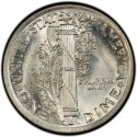 1921 Mercury Dime Value