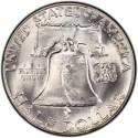 1959 Franklin Half Dollar Value
