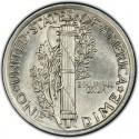 1920 Mercury Dime Value