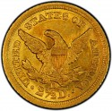 1844 Liberty Head $2.50 Gold Quarter Eagle Coin values