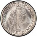 1938 Mercury Dime Value