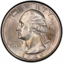 1949 Washington Quarter Value