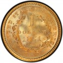 1851 Liberty Head Gold $1 Coin Value