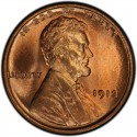 1913 Lincoln Wheat Pennies