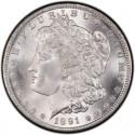 1891 Morgan Silver Dollar Value