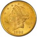 1882 Liberty Head Double Eagle