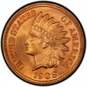 1908 Indian Head Pennies