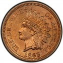 1863 Indian Head Pennies