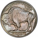 1927 Buffalo Nickel Dollar