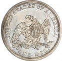 1852 Seated Liberty Silver Dollar Values