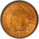 1905 Indian Head Pennies